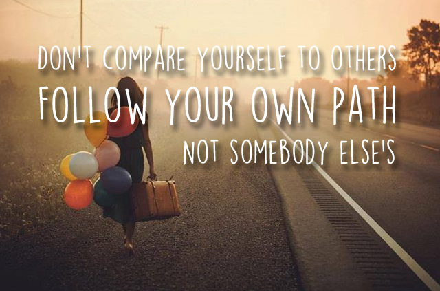 FOLLOW YOUR OWN PATH - VOLG JE EIGEN PAD