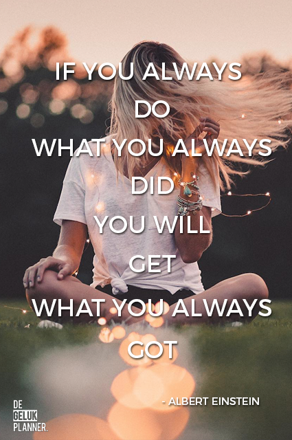 IF YOU ALWAYS DO WHAT YOU ALWAYS DID