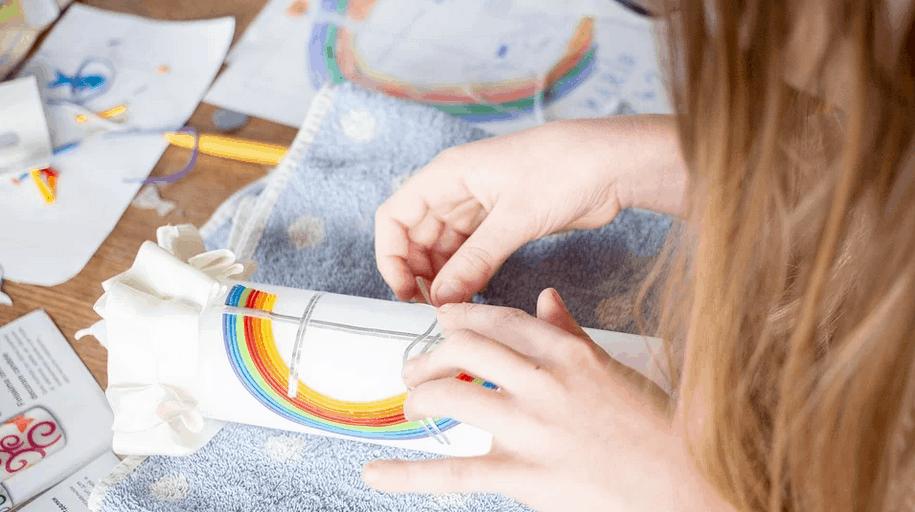 Creatieve hobby's zorgen voor geluk